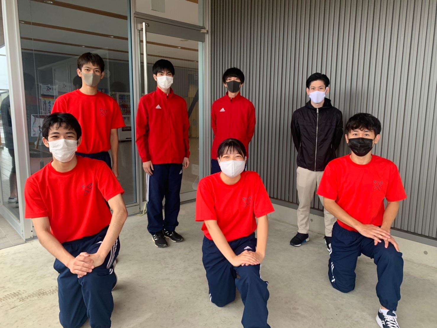 第57回全日本トランポリン競技選手権大会予選会 集合写真